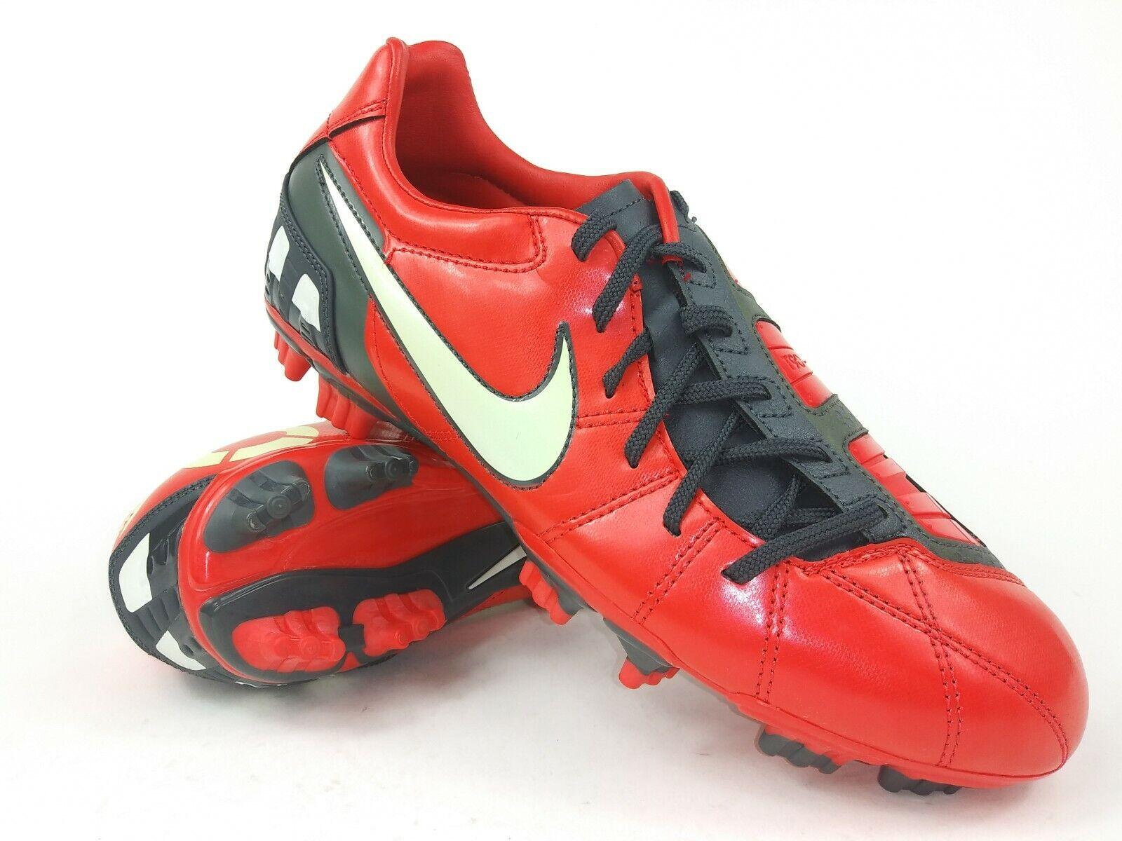 Nike Hombre Raro total 90 disparar Lll FG 385402-611 Rojo blancoo Fútbol Fútbol Tacos