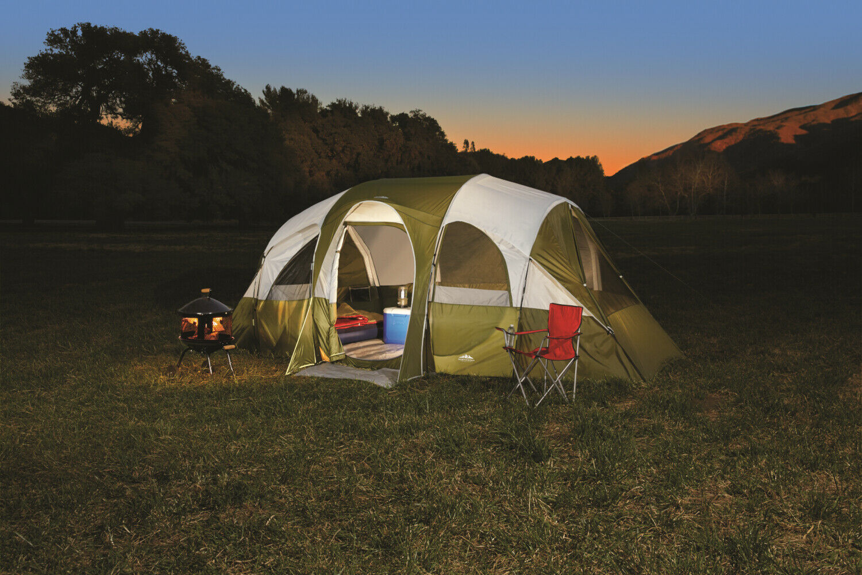 Eagle River Cochepa  18x10 ft 8 personas capacidad portátil para familiar al aire libre campamento  garantía de crédito