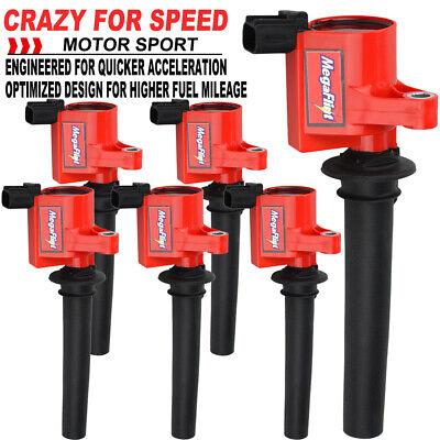 6 Pack Ignition Coils on Plug for 3.0L V6 Ford Escape Mazda Mercury FD502 DG500