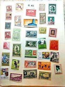 Mint Worldwide stamps lot # G 41 Togo, Tanzania, Bahamas, Senegal, Spain, etc.