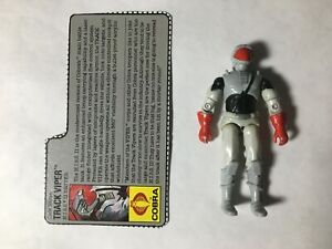 GI JOE ARAH Track Viper 1989 V.2 (H.I.S.S. II Driver) With Filecard Figure Only