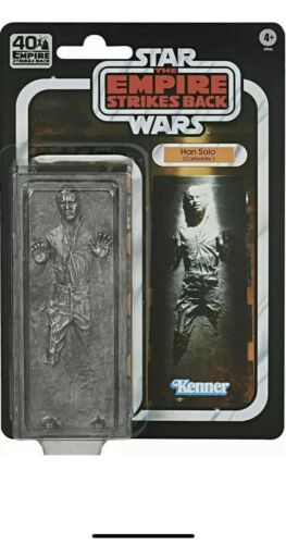 6-Inch 40th IN HAND Ships Now! Carbonite Star Wars Black Series Han Solo
