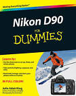 Nikon D90 For Dummies by Julie Adair King (Paperback, 2009)