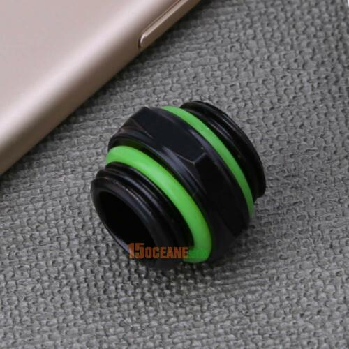 G1//4 Dual External Thread Fittings Tube Connector for PC Water Cooling System