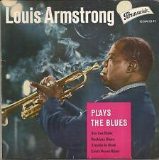 LOUIS ARMSTRONG Plays the blues GERMAN EP BRUNSWICK 1961