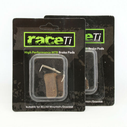 New Deore Disc Brake Pads by raceTi 1 2 3-or 4 sets Shimano Deore M596 2012