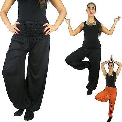 Realistisch Damen Harems-hose Pluderhose Pump Aladin Balon Harem Hose Sport S M L Xl Xxl P1 Feine Verarbeitung
