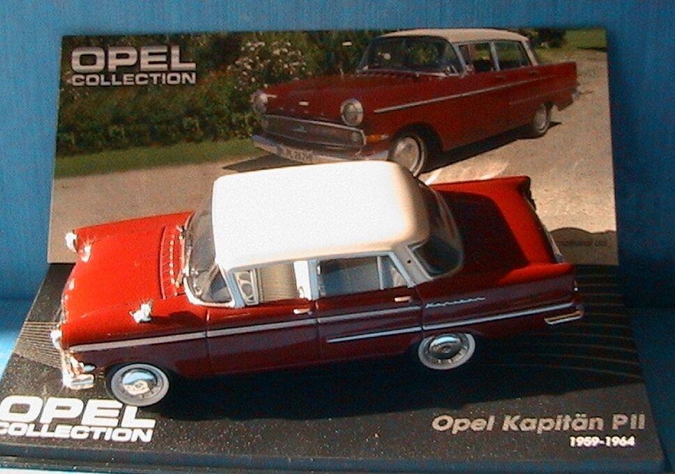 OPEL OPEL OPEL KAPITAN PII 1959 1964 IXO 1 43 WHITE ROOF ALTAYA TOIT white c586e5