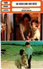 FICHE CINEMA : UN WEEK-END SUR DEUX Avinens,Baye,Garcia 1989 Every Other Weekend