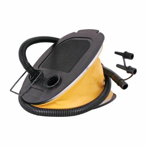 Camping pied pompe à air entièrement compatible avec airbeds gros volume d/'air 5 L