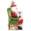 034-Santa-Checking-His-List-034-40300-X-Old-World-Christmas-Glass-Ornament-w-Box thumbnail 3