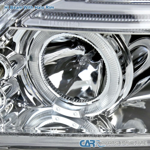 05-10 Scion tC Replacement Clear LED Halo Projector Headlights Head Lights Lamps