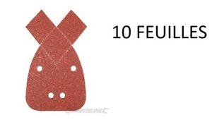 Lote-10-Lamina-Abrasivo-Grano-40-60-80-120-240-de-Lijado-Black-Decker-Mouse
