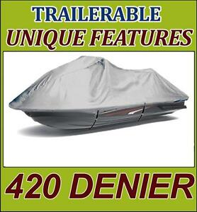 420 Denier Jet Ski Pwc Watercraft Cover Polaris Sl 650 1992 1995 1 2 Seat Jetski Ebay