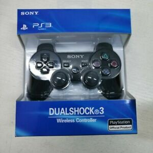 PS3 wireless DualShock 3 CONTROLLER JOYSTICK GAMEPAD NERO PER PlayStation 3