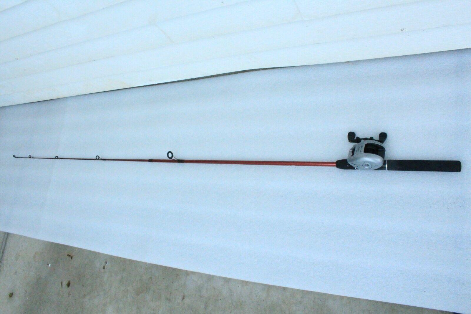 South Bend SR100 335 6' 6-14 Fishing Rod Shakespeare Alpha 310 Baitcasting Reel