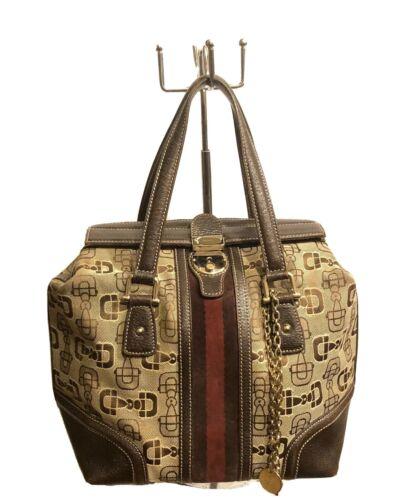Gucci Treasure Boston Bag Horsebit Monogram Canva… - image 1
