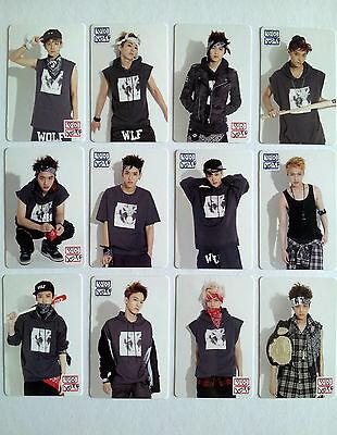 "EXO K M XOXO SM Pop-up Store Everysing ""Official"" Photo Card Set - Sehun Luhan"