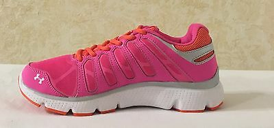 Under Armour UA GGS Micro Pulse II Girls running Shoes Chaos Fire 1246708 677