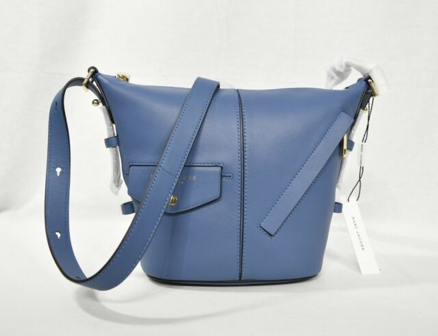 MARC By Marc Jacobs M0013260 The Mini Sling Leather Convertible  Hobo ShoulderBag 24749b1092403