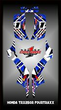 Honda TRX 250R Fourtraxx TRX  SEMI CUSTOM GRAPHICS KIT chaos3