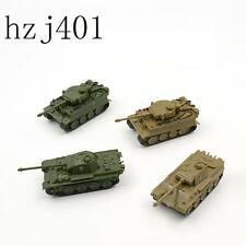 4PCS!  1/144 Mini Tank WWII German Panther & Tiger LOT
