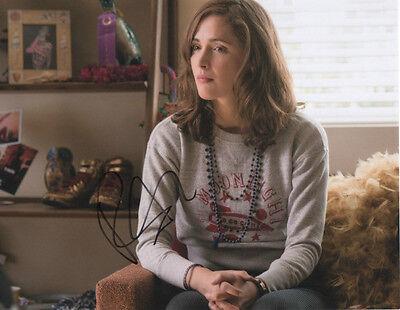 Signed 8x10 Photo Ad1 Proof Coa Rose Byrne Methodical Gfa Neighbors Movie
