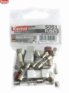 Kemo s051 fusibles//fuses surtido 30 trozo