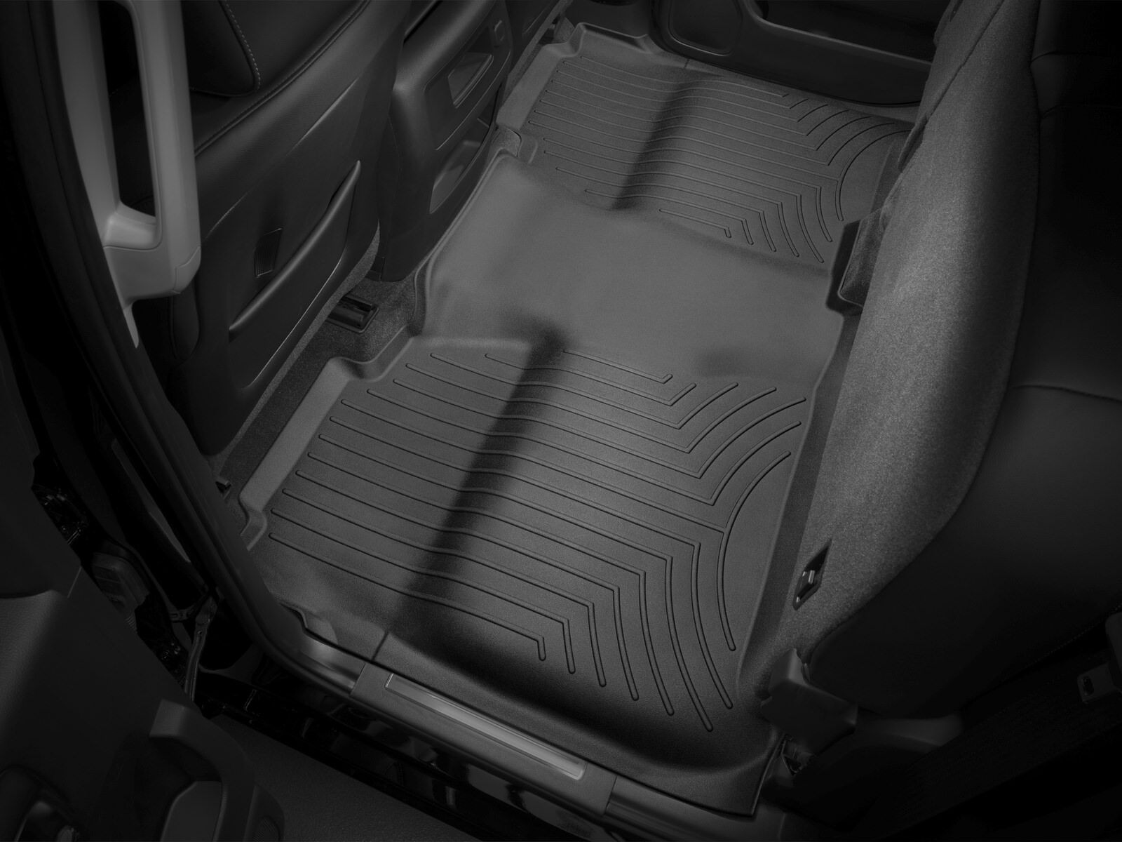 Details about WeatherTech Floor Mat FloorLiner for Chevy Silverado/GMC  Sierra Crew Cab - Black