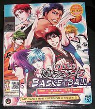 DVD Kuroko no Basuke Season 1 - 3 Kuroko's Basketball + Tip Off + Special + NG