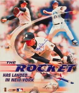 Roger-Clemens-autographed-signed-1999-Yankees-16x20-poster-photo-40-275-TriStar