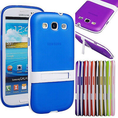 Protective Hybrid Impact Kickstand TPU Case Cover Stand for Samsung Galaxy Phone
