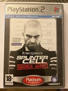 N509 JEU COMPLET PAL FR PS2 : TOM CLANCY'S SPLINTER CELL DOUBLE AGENT @ PROMO !!