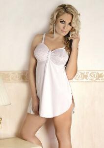 56 nᄄᆭgligᄄᆭe M1076 chemise dentelle Sexy fᄄᆭminine blanche 38 Andalea lingerie F13TJKcul