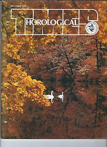 MF-084 - Horological Times Magazine October 1979, 30 Hour English Longcase