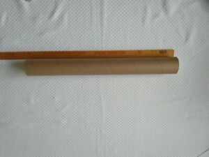 """Shipping Poster Artwork Print Packing 1 Mailing Tube with End Caps 3/"""" x 26/"""""""