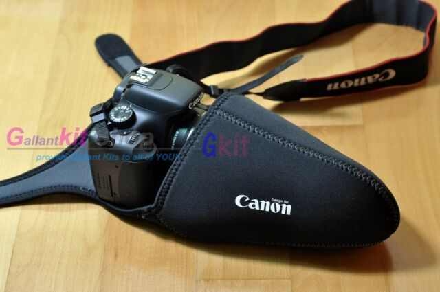 Neoprene Pocket Cushion DSLR Camera Bag Canon EOS 700D 650D 600D 550D 1000D XS