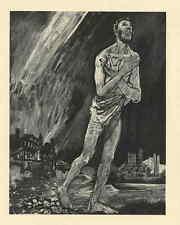 FLUCHT aus der BRENNENDEN STADT - Edy LEGRAND 1947 zum Johannes Evangelium