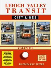 Lehigh Valley Transit City Lines Vol 1 DVD NEW John Pechulis trolley traction