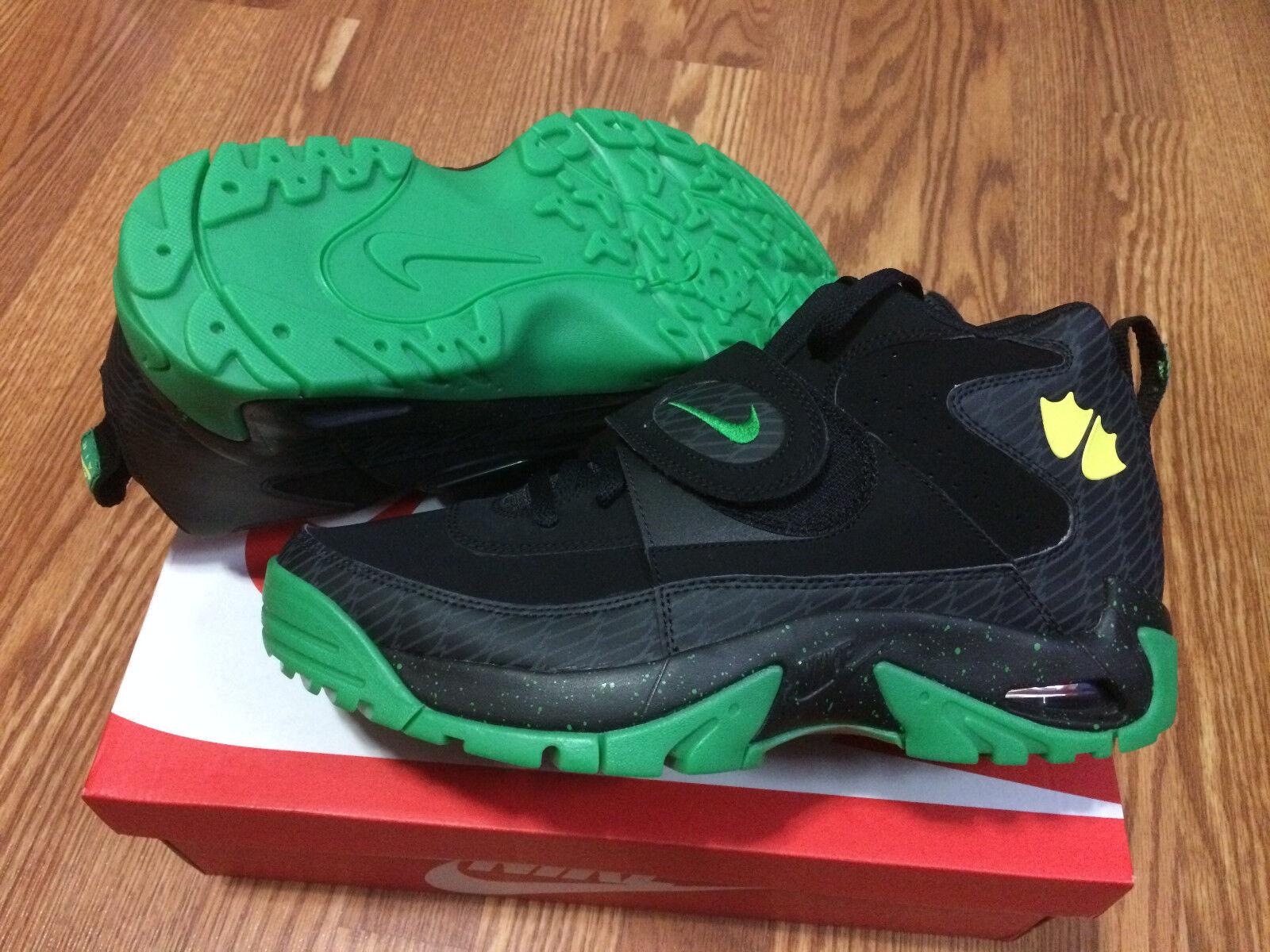 Nike Air Mission PRM Oregon Ducks PE QS Apple Green Yellow 644103 001 Size 12