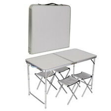 Item 3 Kitchen Dining Garden Outdoor Picnic Camping Folding Portable 4 Chair Table Set