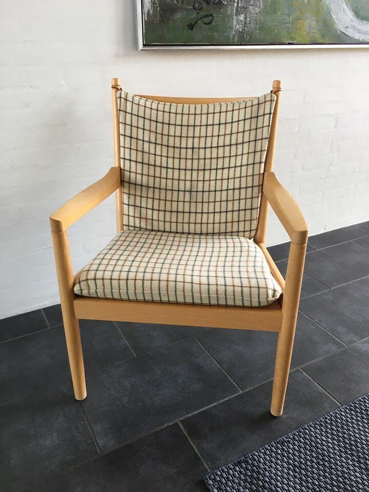 Lænestol, træ, Wegner tremmestol 1788