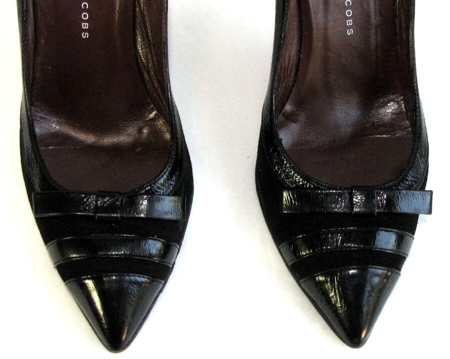 MARC BY MARC JACOBS Escarpins talon 8.5 cm 36.5 cuir velours & verni 36.5 cm T BON ETAT 8efe78