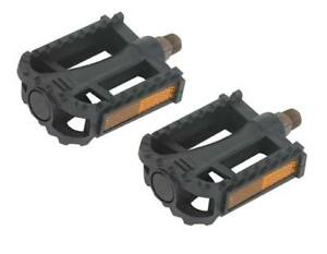 """New Bicycle PVC Pedals 9//16/"""" Purple."""