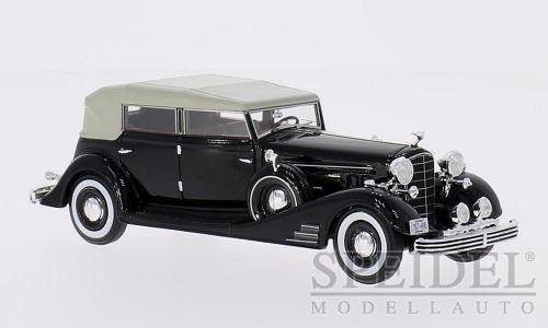 Merveilleux MODELCAR illac Fleetwood Allweather Phaeton 1933-noir - 1 43