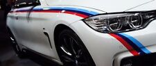 BMW F32 4 Series Coupe OEM M Performance Tri-Color Side Skirt Film Strips NEW