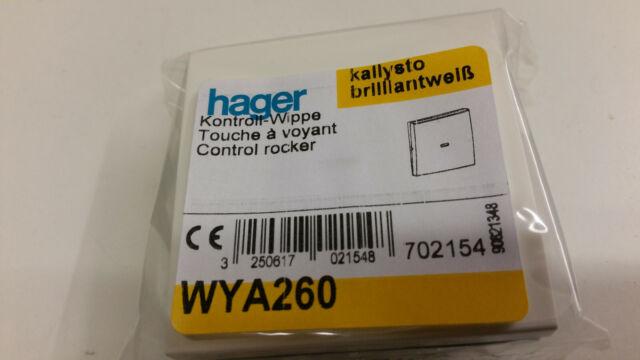 Hager Kallysto Wippe für Kontrollschalter
