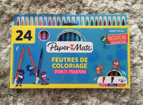 24 BNIB Papermate Colouring Pens//Felt Pens Stocking Filler Washable