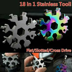 18-In-1-Stainless-Tool-Multi-Tool-Portable-Snowflake-Style-Key-Chain-Screwdriver