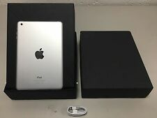 Apple IPAD MINI 16 GB, Wi-Fi, 7.9 A-bianco-Grado A-Regno Unito iPad-eccellente CONDIT